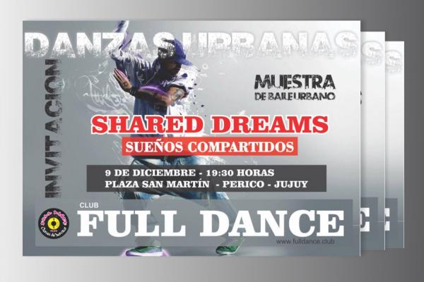 Afiche Danzas Urbanas