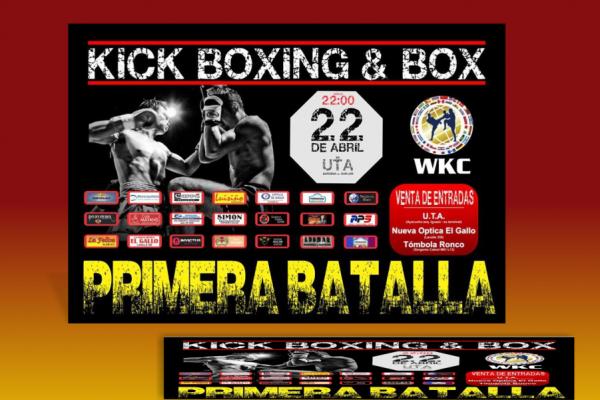 Afiche Kickboxing