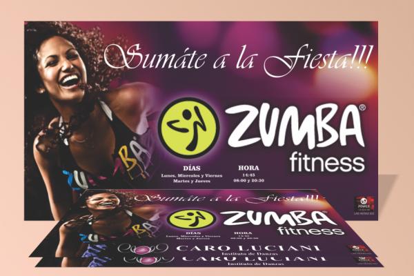 Afiche Zumba