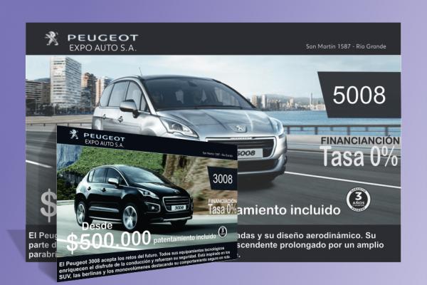 Banner Peugeot