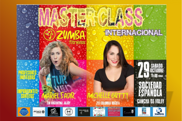 Banner Zumba Master Class