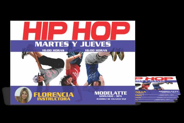 Afiche Hip Hop