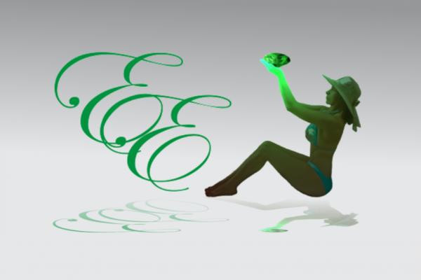Logo Estética Esmeralda